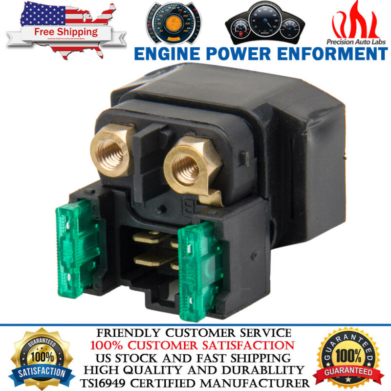 Starter Solenoid Relay For YAMAHA GRIZZLY 660 YFM660 2002 2003 2004 2005-2008 • 8.78$