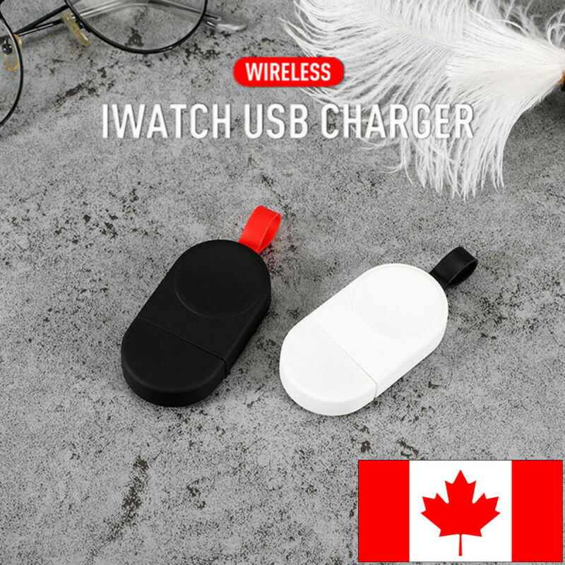 $ CDN11.18 • Buy Portable Power Bank Wireless IWatch Charger Charging For Apple Watch 1 2 3 4@CA