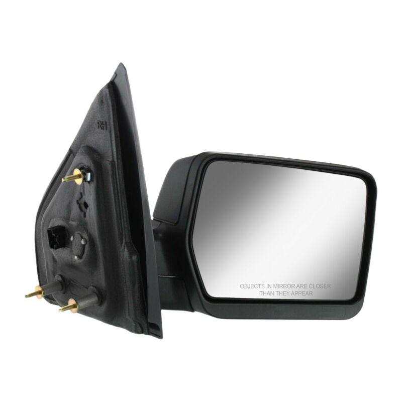 $44.82 • Buy Power Mirror For 2004-2008 Ford F-150 Right Textured Black Manual Folding
