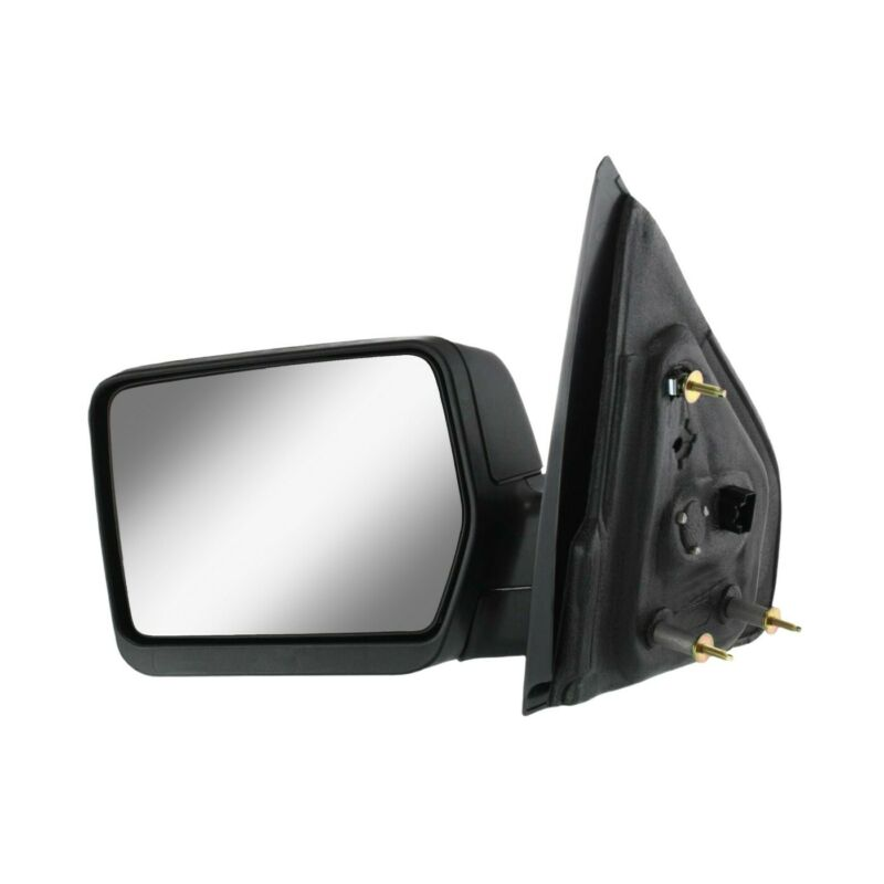 $44.82 • Buy Power Mirror For 2004-2008 Ford F-150 Driver Side Textured Black Manual Folding