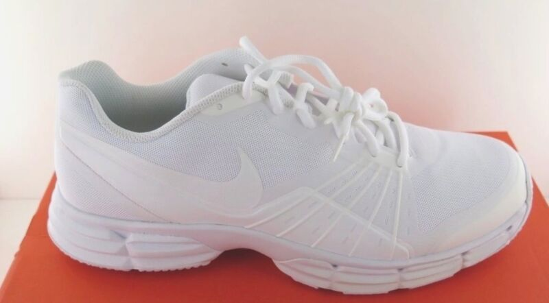 lowest price be0b4 91d99 Nike Dual Fusion TR 5 - White Mens Athletic Shoe - NWD - Medium • 36.79