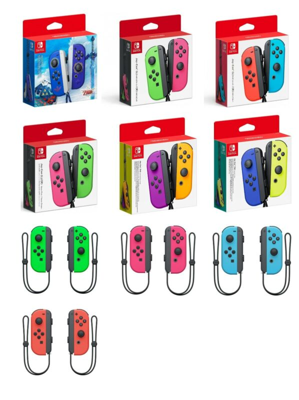 Nintendo Switch Joy Con Wireless Controller - Various Colors Available • 69.99$