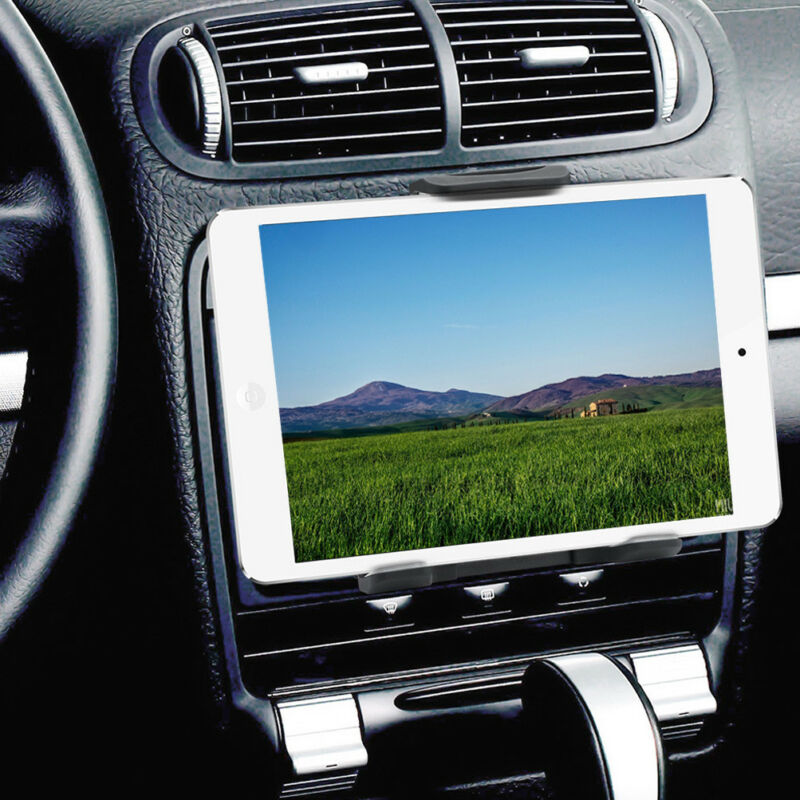 2In1 CD Player Slot Magnetic Car Mount Holder For IPad Mini Air Tablet Phone GPS • 10.91$