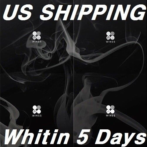 $15.99 • Buy US SHIPPING BTS-[Wings}2nd Album Random CD+96p PhotoBook+1p PhotoCard