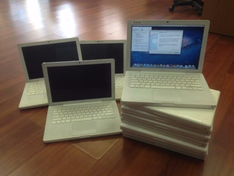 $ CDN1097.15 • Buy Lot Of 10 X Apple Macbook 13  A1181 2.1ghz 160GB 2GB 10.7 Lion New Chargers