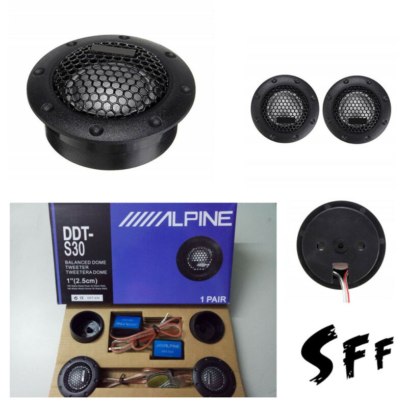 soft dome tweeters