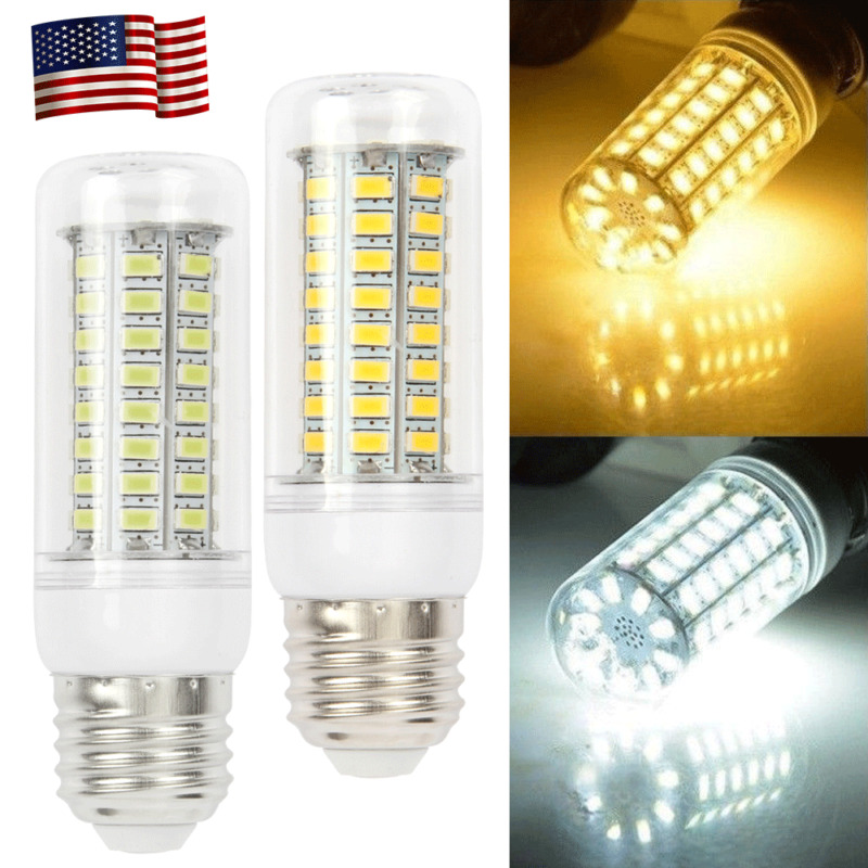 $5.66 • Buy 100W Equivalent LED Bulb 72-Chip Corn Light E26 27 1850lm 5W Cool Daylight 6000K