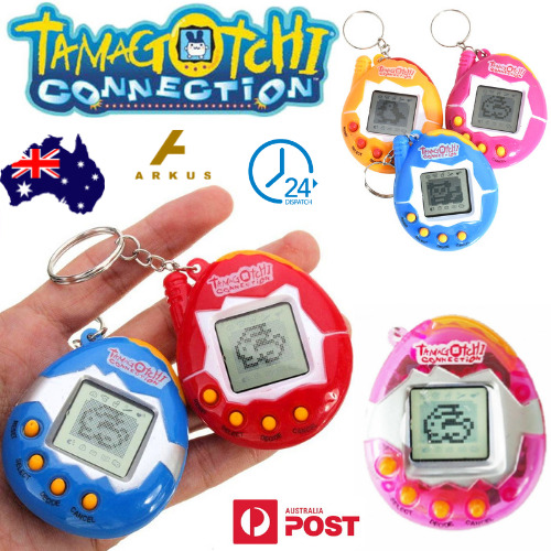 AU7.95 • Buy TAMAGOTCHI Connection VIRTUAL Cyber PET Gift ELECTRONIC Kids RETRO Key Ring TOY