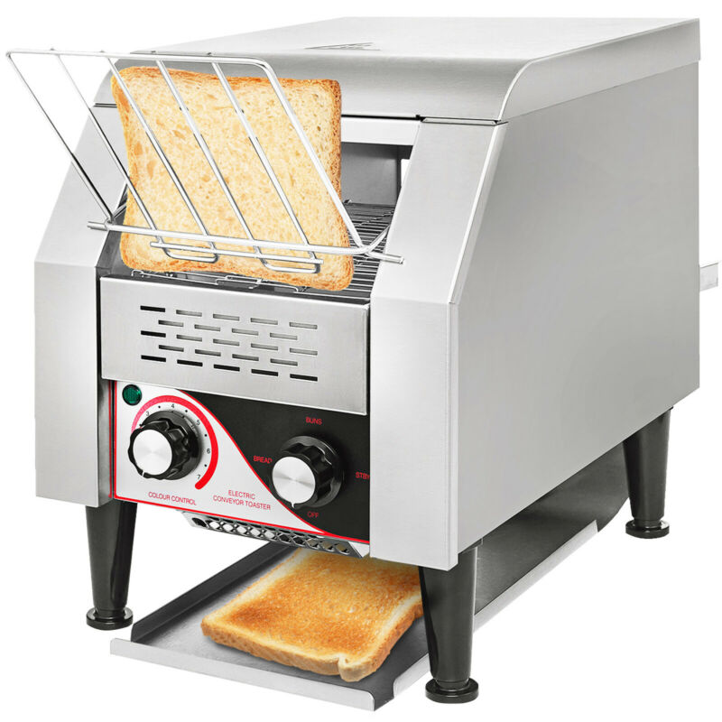 150PCS/H Electric Commercial Conveyor Toaster Kitchen Countertop Bagel Food • 309.97$
