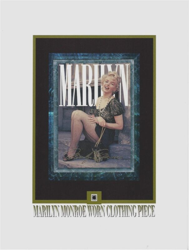 MARILYN MONROE Personal Used Worn CLOTHING PIECE Relic, Swatch, Portion, Owned • 11.95$