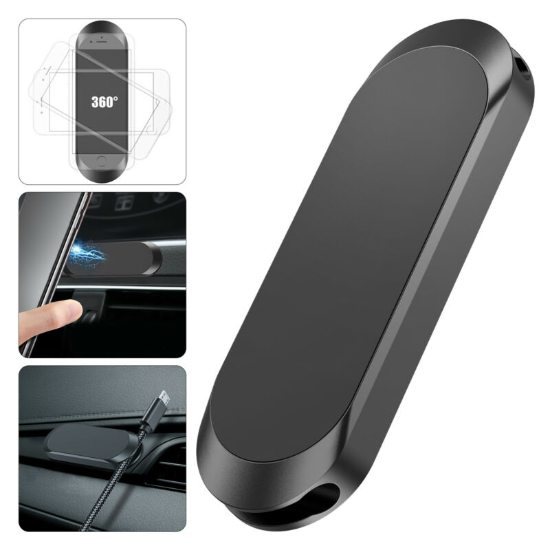 $7.17 • Buy Strip Shape Magnetic Car Phone Holder Stand For IPhone Magnet Mount Accessories