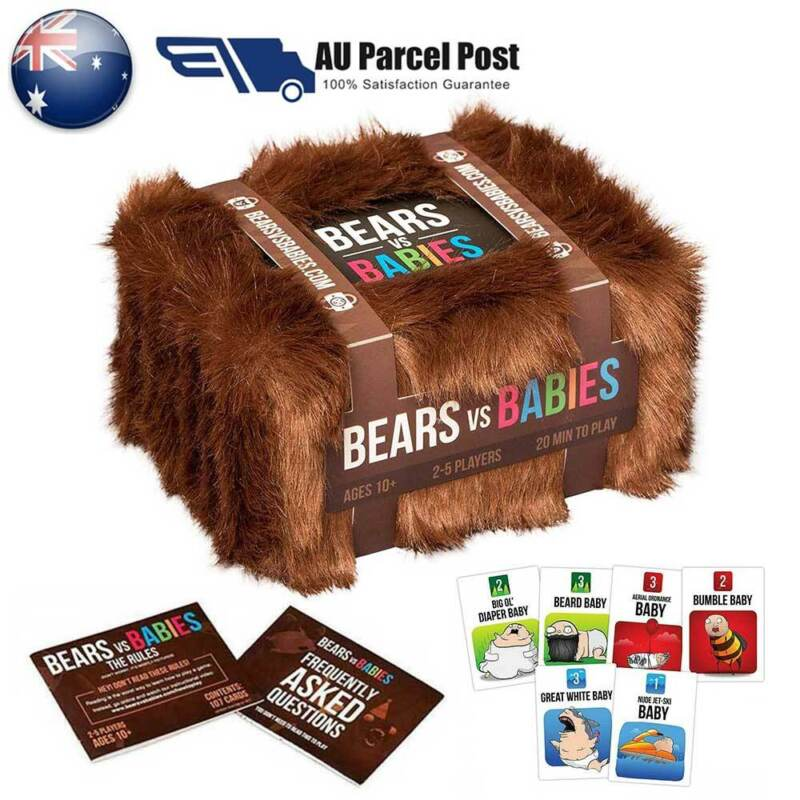 AU23.42 • Buy New Bears VS Babies: A Card Game From The Creators Of Exploding Kittens GXZ AU