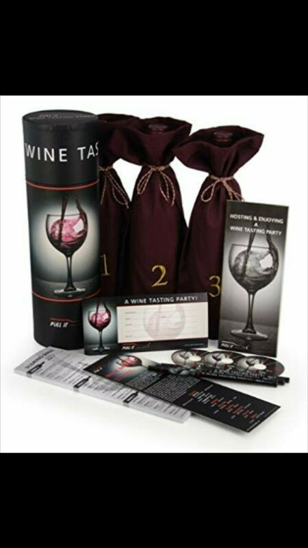 NEW Urban Trend Wine Tasting Party Kit For 12 Guests FREE SHIPPING! • 15$