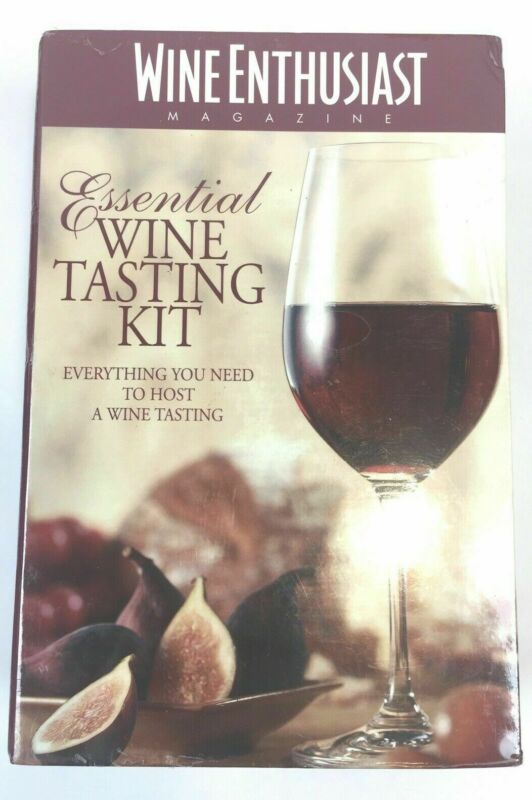 The Wine Enthusiast Essential Wine Tasting Kit Perfect Party Hosting Girls Night • 14.97$