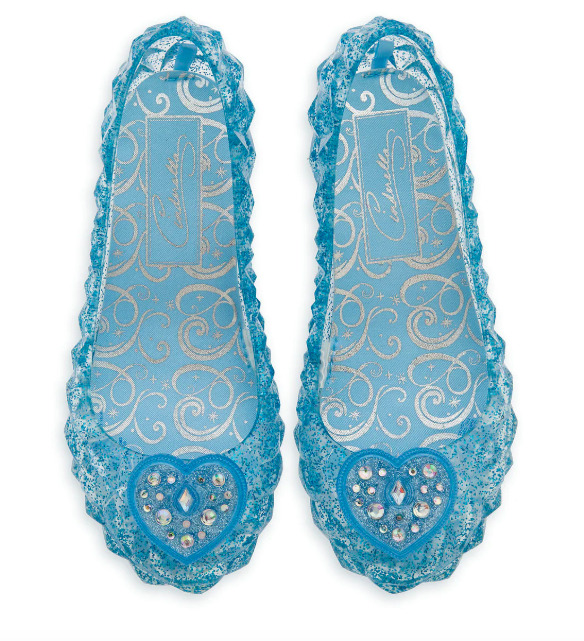 NEW Disney Store Cinderella  Light Up Costume Shoes 9/10 NWT  • 17.99$