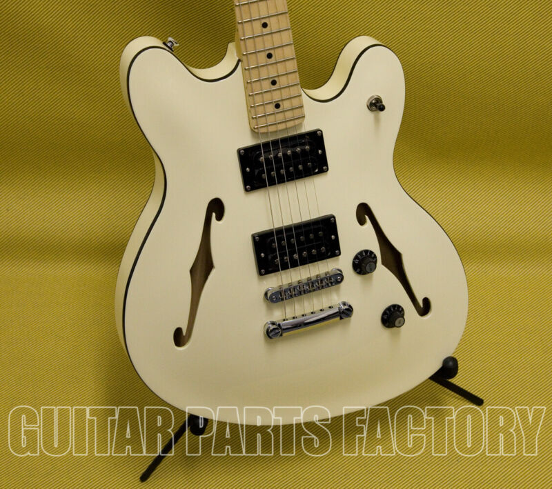 $299.99 • Buy 037-0590-505 Squier Starcaster Guitar Maple Fingerboard Olympic White By Fender
