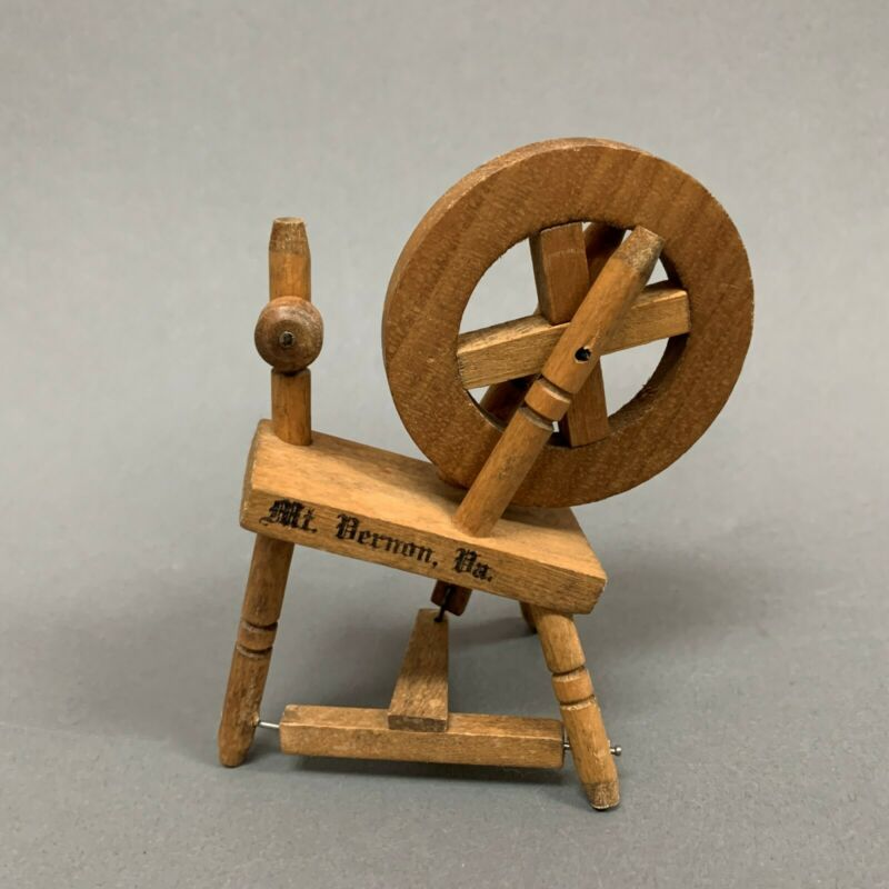 $19.99 • Buy Mt Mount Vernon Wooden Spindle Doll Furniture Accessories