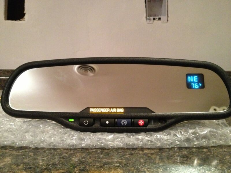 Gentex 261 Onstar Autodim Mirror With Compass Temp 03-06. (Use 511 For 07-up ) • 79.50$