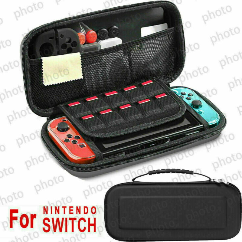 $13.59 • Buy For Nintendo Switch Accessories Hard Case Bag+Shell Cover+Charge Cable+Protector