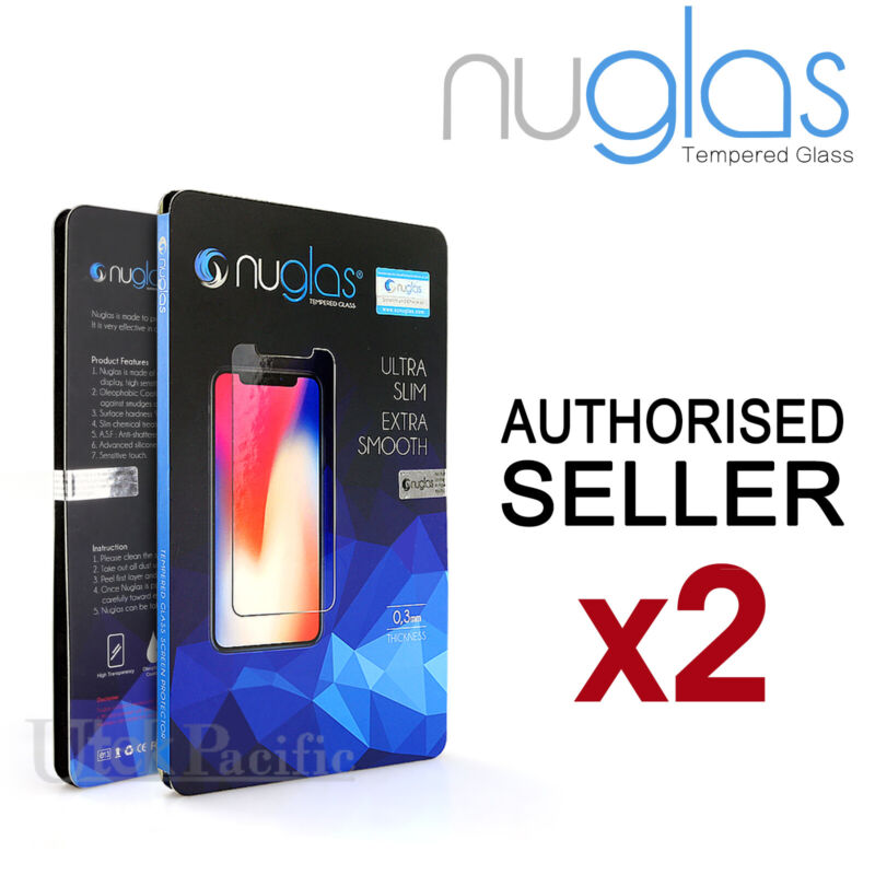 AU6.95 • Buy 2x NUGLAS Apple IPhone 11 Pro XS Max XR 8 Plus Tempered Glass Screen Protector