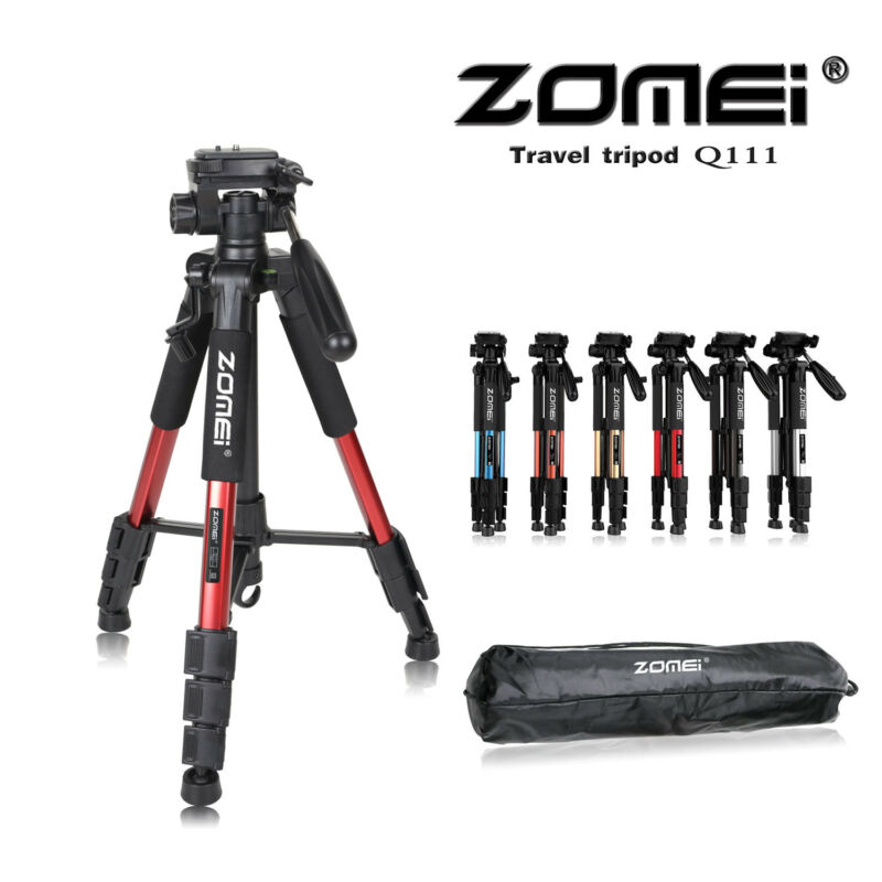 AU33.99 • Buy Zomei Portable Camera Tripod Travel Quick Release Pan Head For DSLR Camera Phone