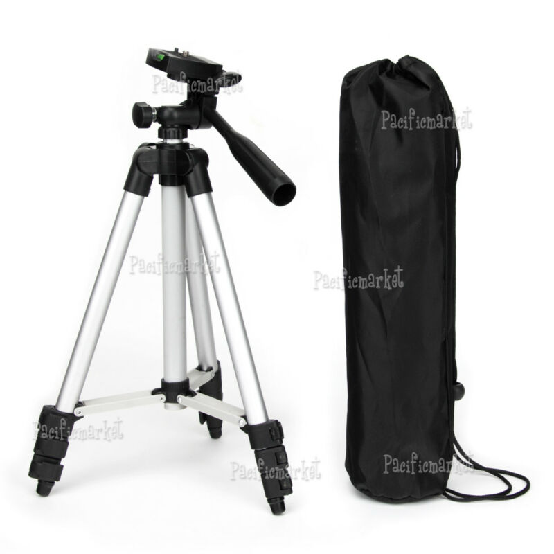 AU12.95 • Buy Lightweight Tripod Stand WT-3110a For DSLR Digital Camera Nikon SONY Canon AU