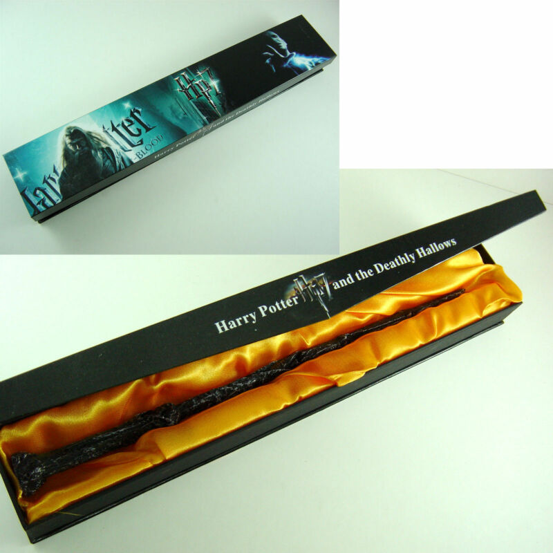 $8.20 • Buy HOT New Harry Potter 14.5  Magical Wand Replica Cosplay Halloween Gift In Box