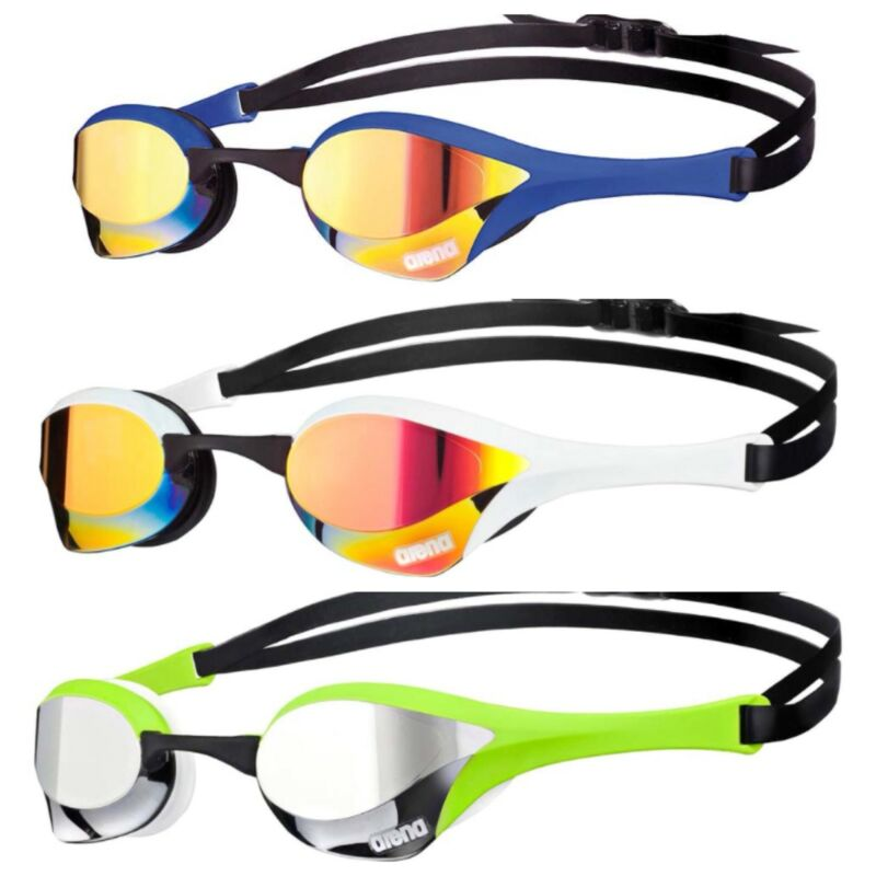 d4a813acc897 Arena Cobra Ultra Mirrored Swimming Goggles-One Size (Fast Shipping) •  43.99