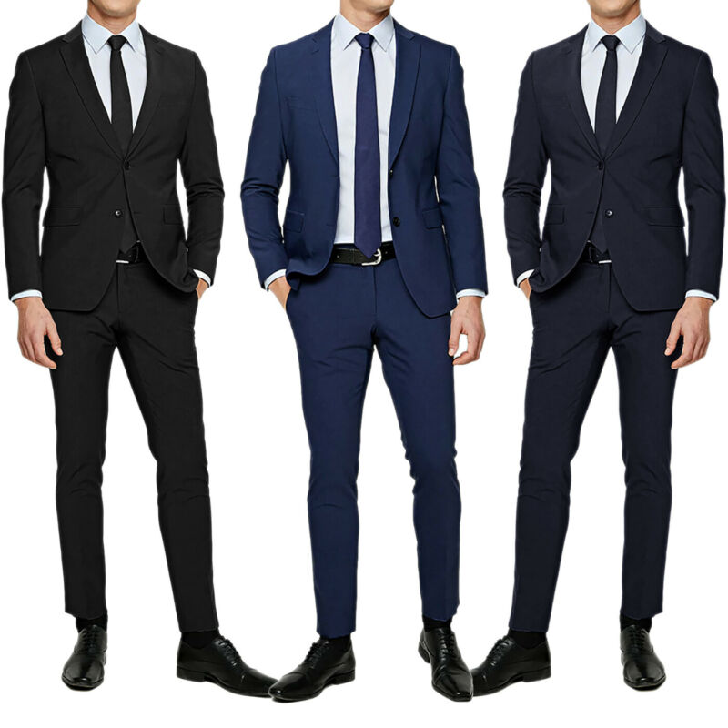 best website 81ad1 9272a Abito Elegante Uomo Slim