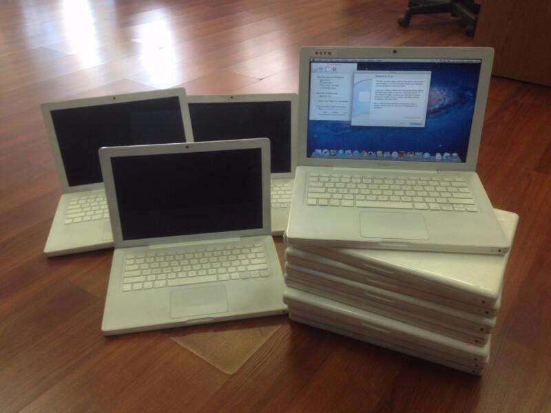 $ CDN1202.26 • Buy Lot Of 10 A1181 Apple Macbook 13  2.4ghz 160GB 2GB 10.7 Lion New Chargers