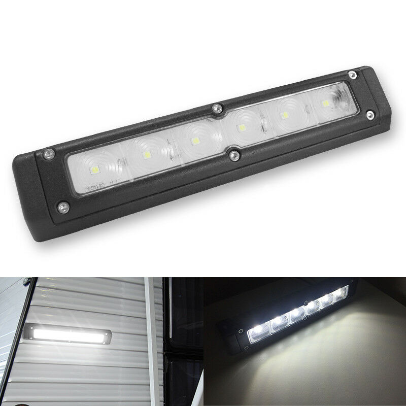 12V 720lm RV LED Awning Lights Camper Trailer Boat Exterior Wall Bar Lamp Cool W • 25$