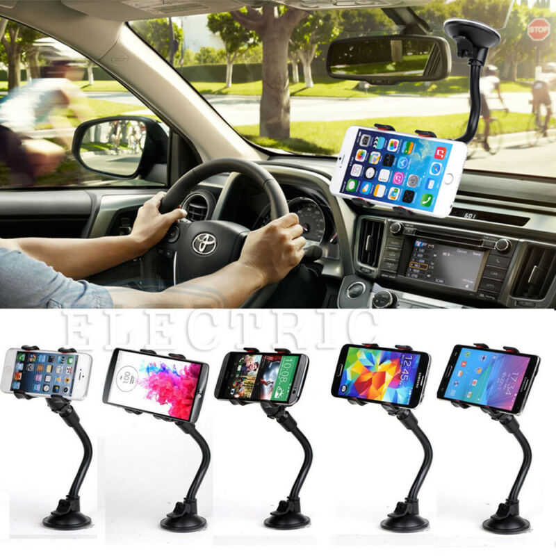 $6.59 • Buy Car AUTO ACCESSORIES Rotating Phone Windshield Holder For Samsung S10 / S10 Plus