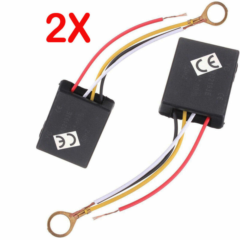2X 3Way Touch Sensor Switch Control For Repairing Lamp Desk Light Bulb Dimmer US • 5.88$