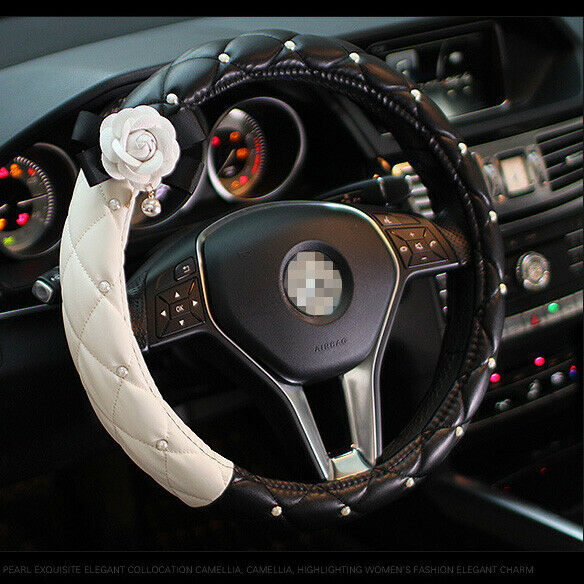 $21.58 • Buy Steering Wheel Cover Car Accessories Interior Style Cute Fashion For Girl Women