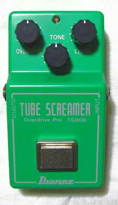 Used Ibanez TS808 Overdrive Guitar Effect Pedal • 149.99$