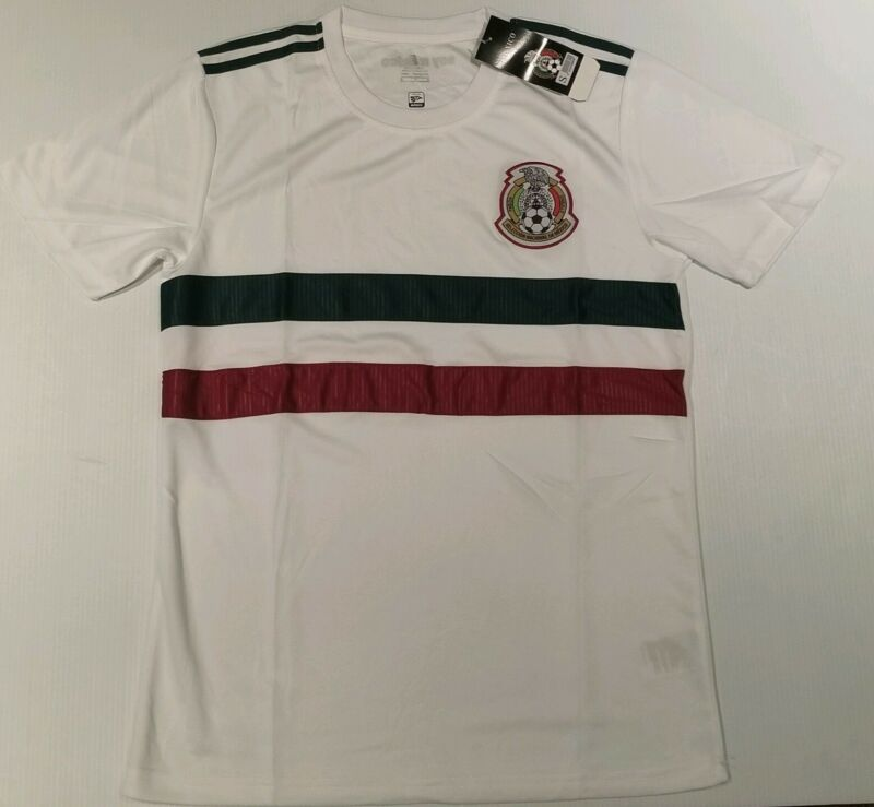 Men's Mexico Away Soccer Jersey White Color • 19$