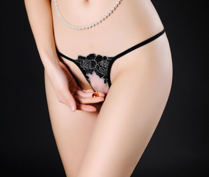 AU8.99 • Buy Women Lady Sexy Crotchless Open Crotch Foreplay Thong Underwear Undies Panties