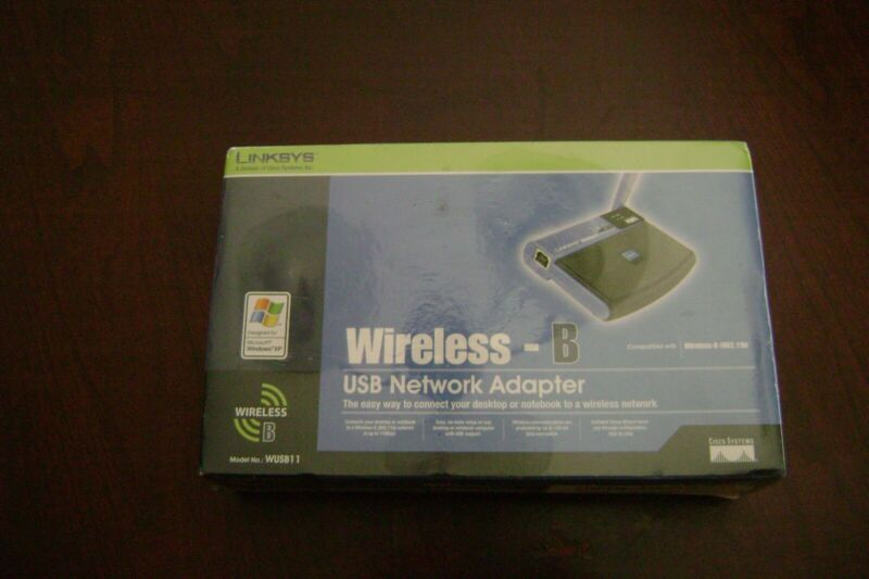 $19.99 • Buy Linksys Model No. WUSB11 2.4 GHz Instant Wireless Series USB Network Adapter
