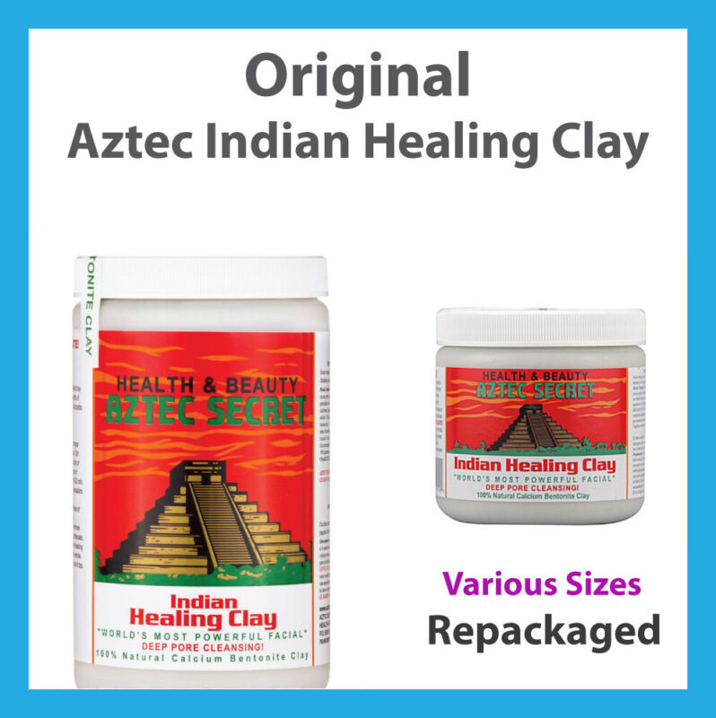 AU10.55 • Buy Aztec Indian Secret Healing Clay Calcium Bentonite Aztec Clay Natural Face Mask