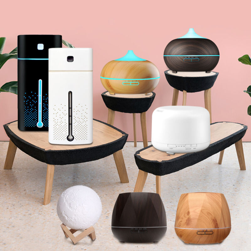AU22.99 • Buy Ultrasonic Aroma Aromatherapy Diffuser Oil Electric Air Humidifier Essential LED