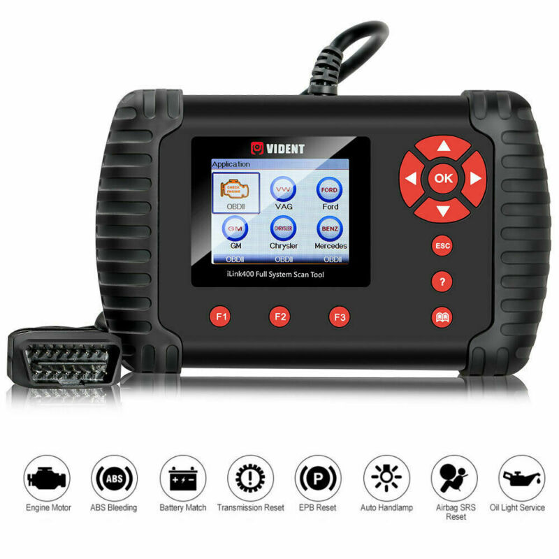 VIDENT ILink400 For HONDA Full System OBD2 Diagnostic Scanner Code Reader Tool • 199$