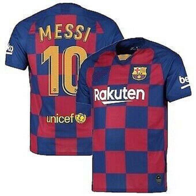 Barcelona Messi #10 Home New Season Soccer Jersey Adult/Men Sizes • 22.99$