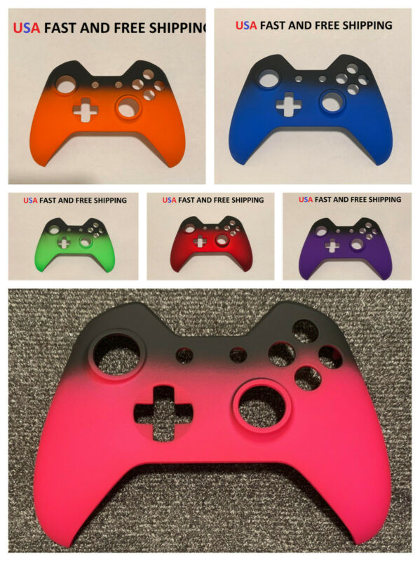 Replacement Front Shell Faceplate For Xbox One Controller Shadow Soft Touch • 7.99$
