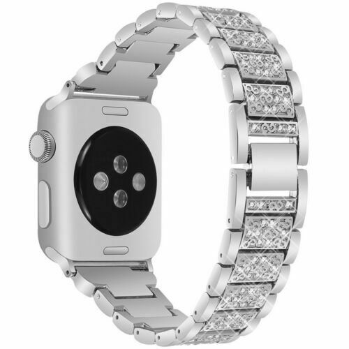 $ CDN11.99 • Buy Diamond Stainless Steel Band IWatch Strap For Apple Watch Series 5 4 3 2 1
