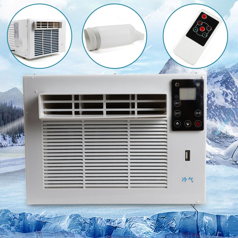 AU295.60 • Buy 1100W Window Reverse Cycle Refrigerated Air Conditioner Heating/Cooling Portable