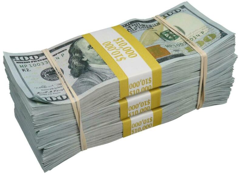 $9.99 • Buy CASH MONEY STACK GLOSSY POSTER PICTURE PHOTO BANNER PRINT 100 Dollar Bills 5675