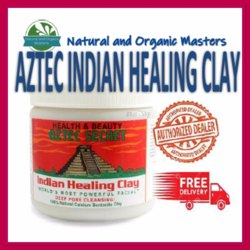 AU23.90 • Buy ✅Aztec Secret Indian Healing Clay -Genuine Facial Deep Pore Cleansing Mask 454g