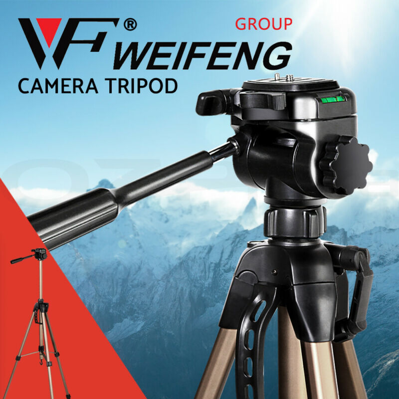 AU32.90 • Buy Weifeng Professional Camera Tripod Monopod Stand DSLR Ball Head Mount Flexible