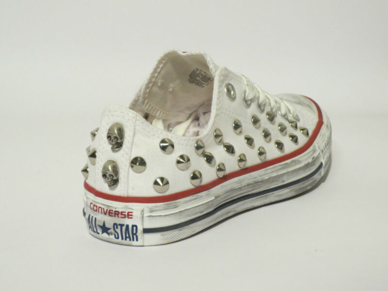 2converse donna all star borchie
