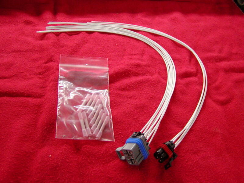wiring harness repair kit mlps (prndl) wire & connectors 4l60e 95-08 •